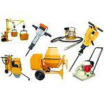 Maquinaria y accesorios para construcción