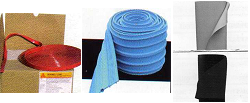 Perfiles Hidroexpansivos Cintas de PVC y Láminas de PVC